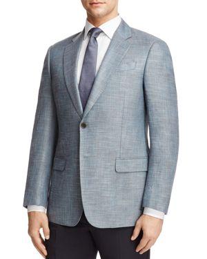 Armani Collezioni Textured Classic Fit Sport Coat