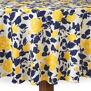 kate spade new york Garden Rose Tablecloth, 70 Round