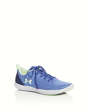 Under Armour Girls Street Precision Lace Up Sneakers  Big Kid