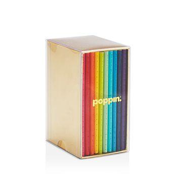 Poppin - Mini Medley Bright Notebooks, Set of 10