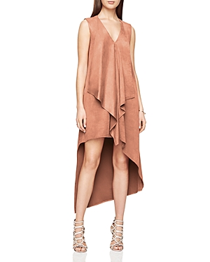 Bcbgmaxazria Trar Faux-Suede Dress