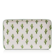 Bloomingville Ceramic Jade Cactus Plate - Bloomingdale's Registry_0