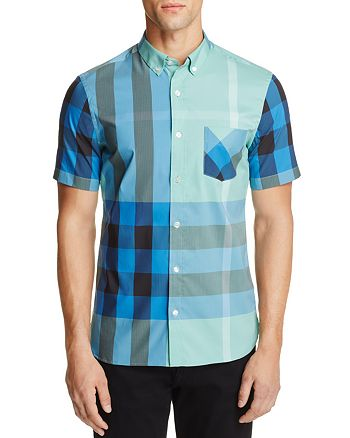 6dae3713cc4 Burberry - Thornaby Plaid Regular Fit Button-Down Shirt