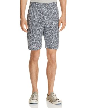 Wrk Tristen Gravel Print Slim Fit Shorts