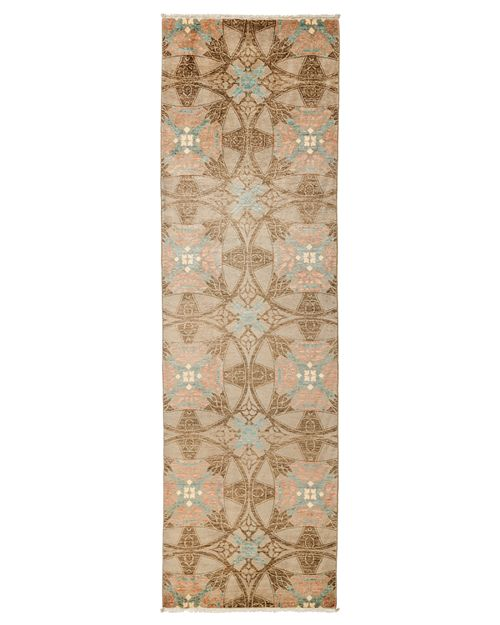 "Solo Rugs - Suzani Runner Rug, 3'3"" x 10'5"""