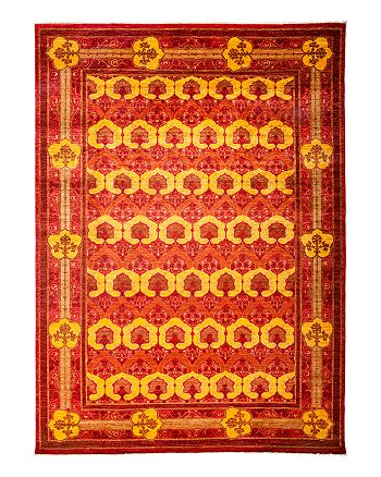 "Solo Rugs - Arts and Crafts Area Rug, 8'10"" x 12'5"""