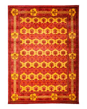 Solo Rugs Arts and Crafts Area Rug, 8'10 x 12'5