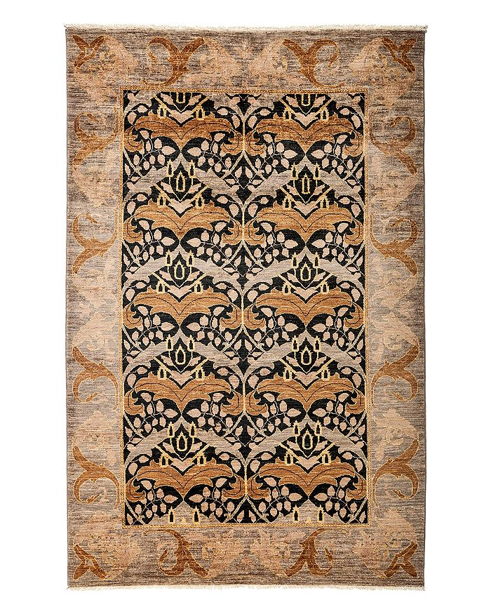 """Solo Rugs - Arts and Crafts Area Rug, 5'2"""" x 7'10"""""""