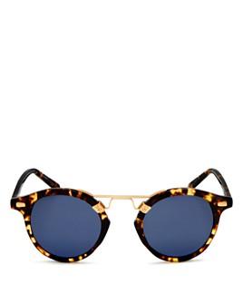 Krewe - Women's St. Louis 24K Polarized Round Sunglasses, 46mm
