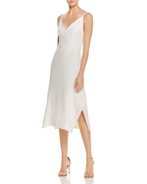 C/Meo Collective Shadow V-Neck Dress
