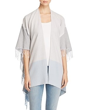Eileen Fisher Fringe Trim Serape at Bloomingdale's