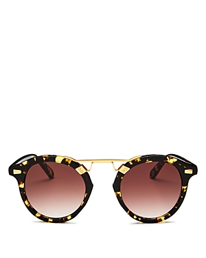 Women's Stl Ii 24K Gradient Round Sunglasses