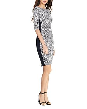 Lauren Ralph Lauren Petites Side-Stripe Dress