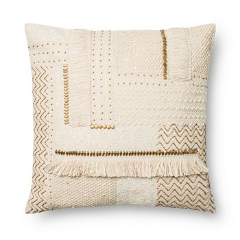 "Loloi - Bohemian Decorative Pillow, 22"" x 22"""