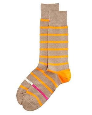 Paul Smith Simple Neon Stripe Socks