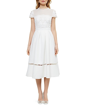 Ted Baker Lace Bodice Dress