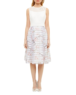 Ted Baker Floral-Printed Dress