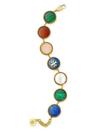 Tory Burch - Multi Stone Bracelet