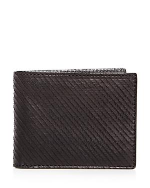 John Varvatos Star Usa Leather Bifold Wallet