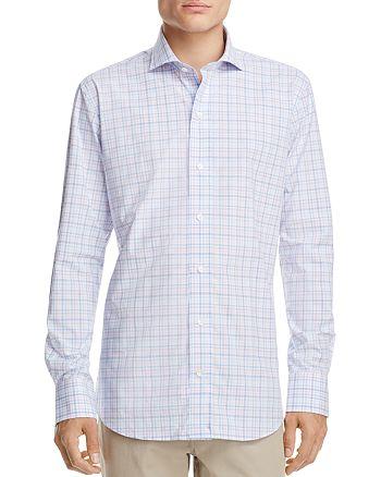 Ledbury - Check Slim Fit Button-Down Shirt