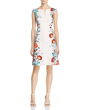 Adrianna Papell Floral-Pattern Dress
