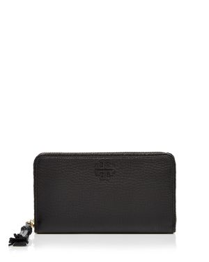 Tory Burch Taylor Zip Leather Continental Wallet