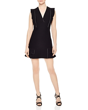 Sandro Capri Ruffled Mini Dress
