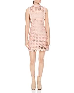 Sandro Manille Lace Mini Dress