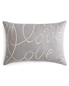 "Matouk - Love Decorative Pillow, 15"" x 21"""