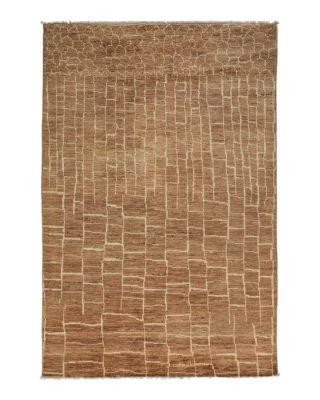 "Moroccan Area Rug, 4'10"" x 6'9"""