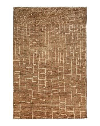 "Solo Rugs - Moroccan Collection Oriental Rug, 5'9"" x 8'8"""