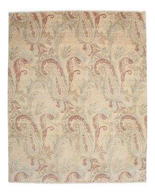 """Ikat Collection Oriental Rug, 8'1"""" x 9'10"""""""
