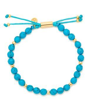 Gorjana Power Turquoise Bead Bracelet