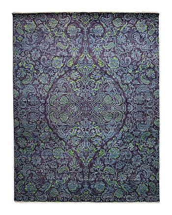 """Solo Rugs - Suzani Collection Oriental Rug, 8'2"""" x 10'7"""""""