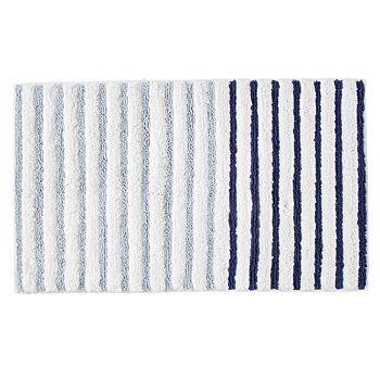 DKNY - Parsons Stripe Bath Rug