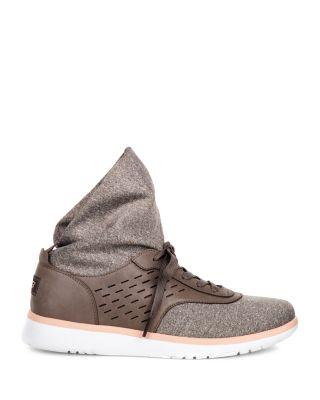 UGG® Islay Leather Paneled Sneakers