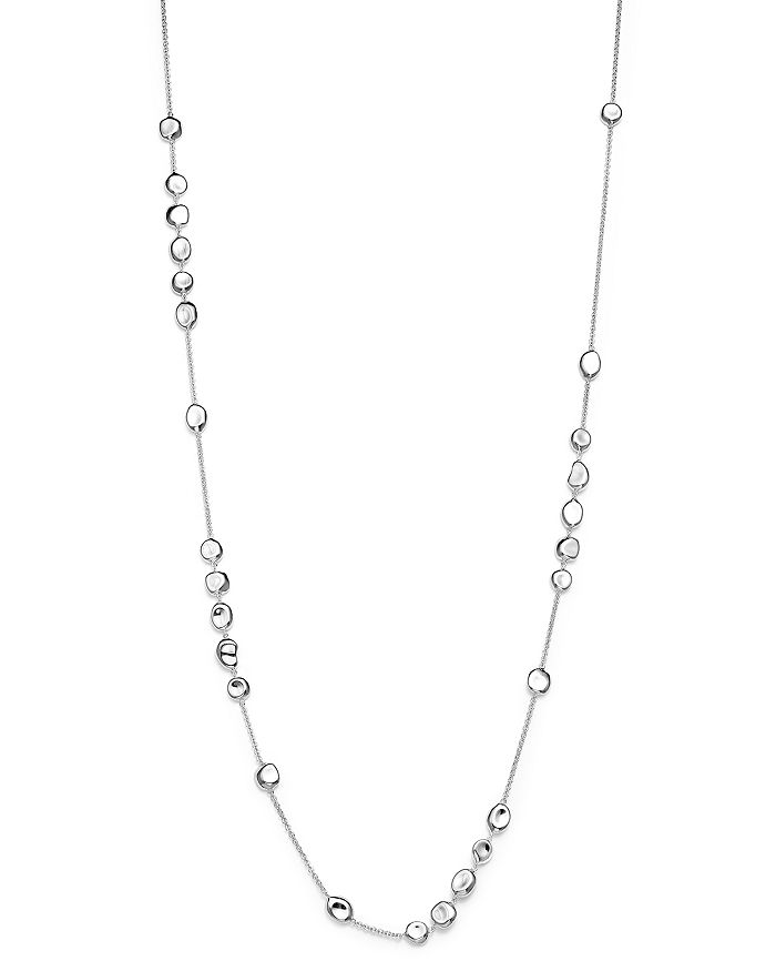 """IPPOLITA - Sterling Silver Glamazon® Pebble Station Necklace, 37"""""""