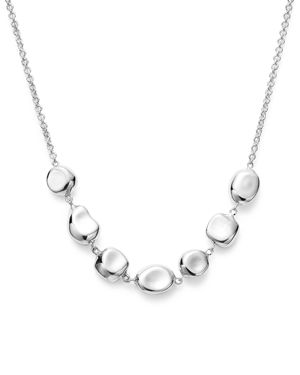 Ippolita Sterling Silver Glamazon Pebble Necklace, 16