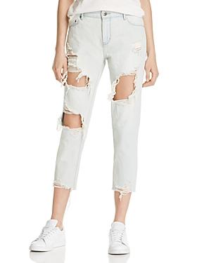 Pistola Remy Crop Boyfriend Jeans in Whatevs