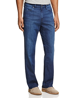 34 Heritage Charisma Comfort-Rise Classic Straight Fit Jeans in Mid Summer