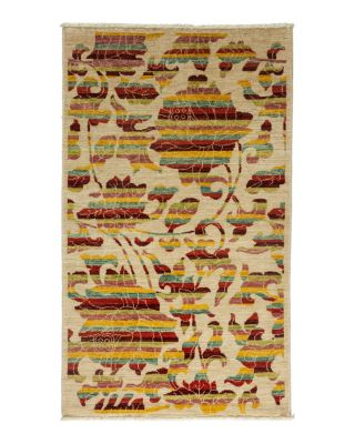 """Morris Collection Oriental Rug, 3' x 5'1"""""""