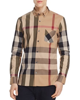 Burberry - Thornaby Plaid Regular Fit Button-Down Shirt
