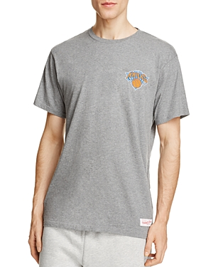 Mitchell & Ness Knicks Wordmark Logo Tee - 100% Exclusive