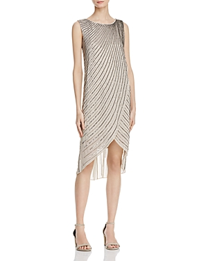 Adrianna Papell Bead-Embellished Dress