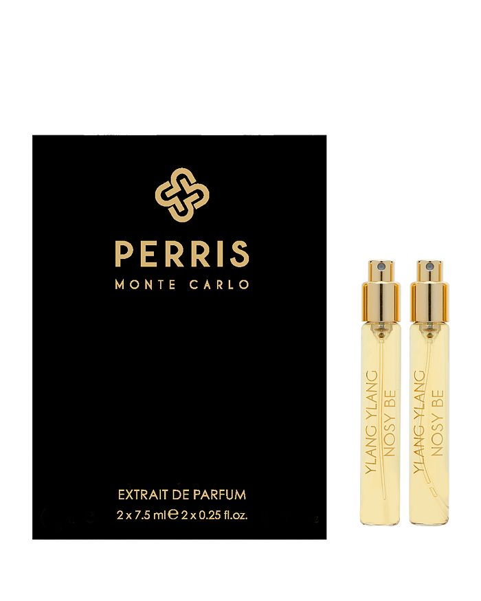 Perris Monte Carlo - Ylang Ylang Nosy Be Extrait de Parfum Travel Spray Refill Gift Set