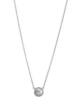 Dogeared - Dogeared Large Freshwater Pearl Necklace, 16""