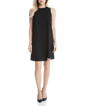 Karen Kane Asymmetric Hem Shift Dress