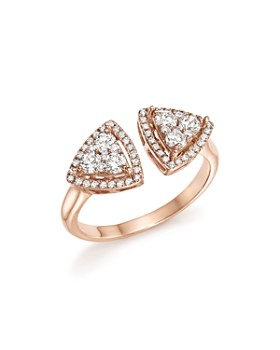 Bloomingdale's - Diamond Geometric Open Cluster Ring in 14K Rose Gold, .65 ct. t.w. - 100% Exclusive