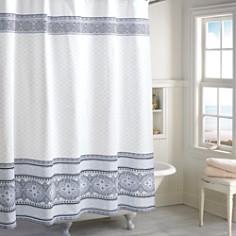 Peri Home Medallion Border Shower Curtain - Bloomingdale's Registry_0