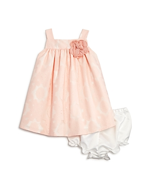 Pippa  Julie Girls Lace Overlay Float Dress  Bloomers Set  Baby